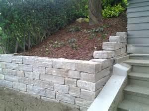 steinmauern garten steinmauern