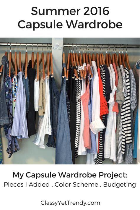 Summer Capsule Wardrobe by Summer 2016 Capsule Wardrobe Yet Trendy
