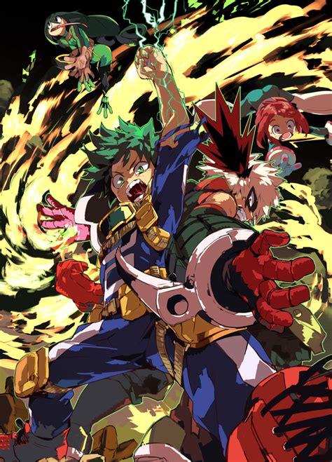 anoboy boku no hero midoriya izuku fanart page 2 zerochan anime image board