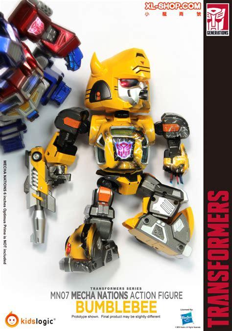 Nations Kidslogic Transformers logic mecha nations mn007 transformers g1 bumblebee