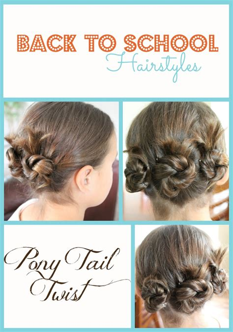 hairstyles for back school back to school hairstyles pony tail twist fabulessly