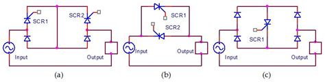 rectifier circuit using thyristor speed of a dc motor