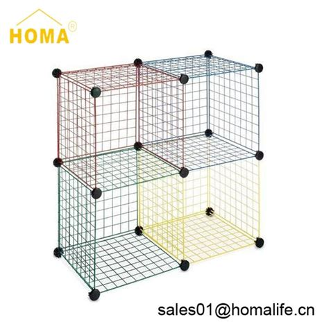 wire bathroom storage factory metal grid wire modular shelving and bathroom