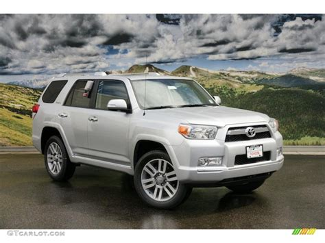 Limited A1147 Leather Silver 2011 classic silver metallic toyota 4runner limited 4x4 47005158 gtcarlot car color