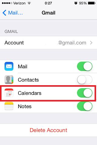 Sync Gmail Calendar With Iphone How To Fix Gmail Calendar Not Syncing On Iphone Email