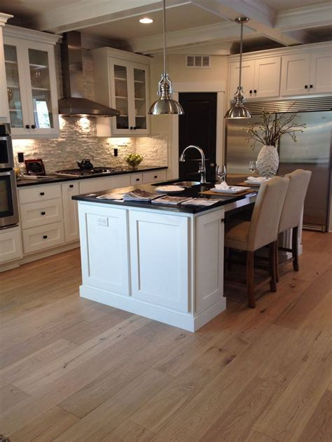 Is Engineered Hardwood For Kitchens by Kentwood Originals Oak Halfmoon Bay Engineered Wide Plank