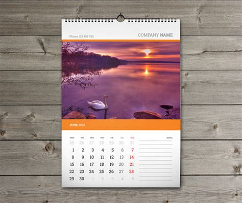 wall calendar design template 20 wall calendars psd ai indesign eps design