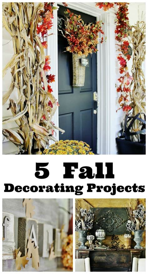 five fall projects thistlewood farm - Fall Decorating Projects
