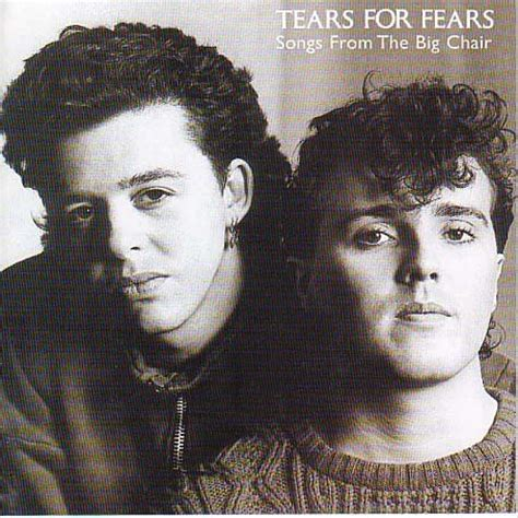Songs From The Big Chair by Waveromantic Tears For Fears 11 Albunes