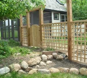 Garden Fence Decorating Ideas Triyae Proof Backyard Ideas Various Design Inspiration For Backyard