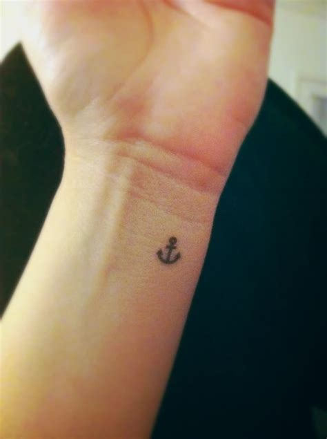 anchor tattoo on wrist meaning 34 simple anchor tattoos