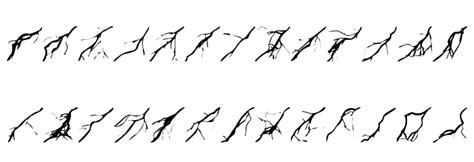 lightning font lightning bolts font