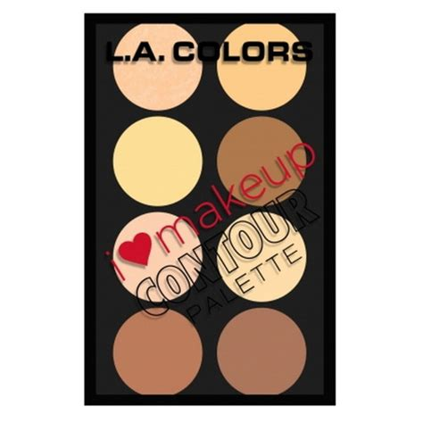 la colors makeup l a colors i makeup contour palette beautyjoint