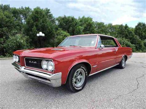 pontiac gto 1964 1964 pontiac gto for sale on classiccars 21 available