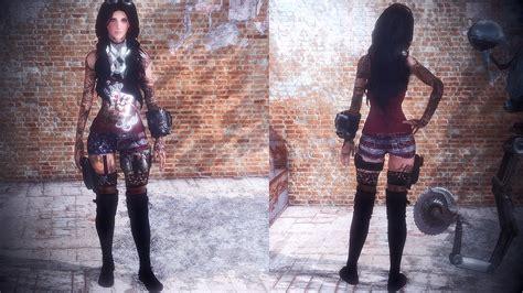 hair and face models fallout 4 maya preset standalone hair mod mod download