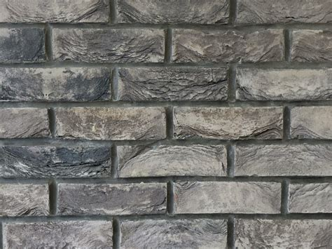 slate grey 2 5 quot hand made brick slips brick wall tiles warwick reclamation