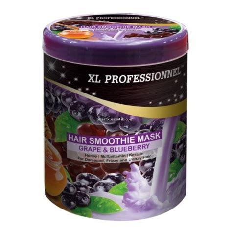 Masker Rambut Xl Professionnel xl professionnel hair smoothie mask grape