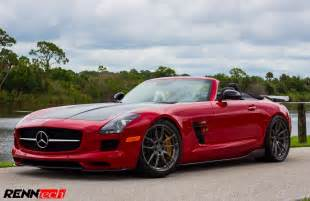 Mercedes Sls Amg Roadster Renntech Gives The Mercedes Sls Amg Roadster Some Gt3 Flavor