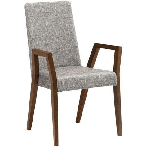 omax decor cara dining chair with arm set of 2