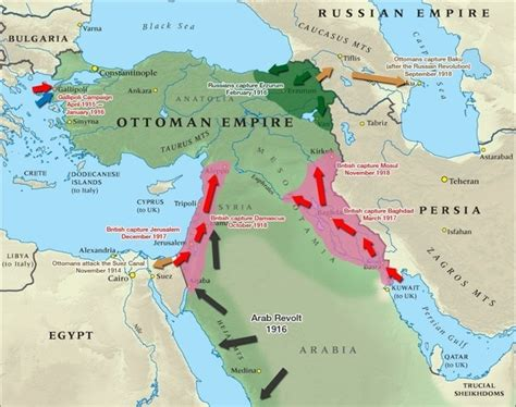 The Ottoman Empire Ww1 Was The Ottoman Empire An Ally Of Germany During Wwi Did The War Take Place Only In Quora
