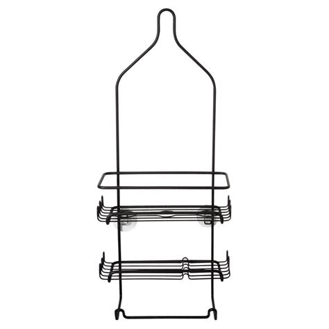 bathtub caddy home depot zenna home tub and shower tension corner pole caddy with 3 shelves in white 371w the