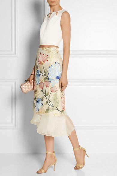 Hanbok Skirt Midi Floral 25 best ideas about modern batik dress on