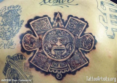 tattoo azteca best wallpaper 2012 azteca ink flash skull