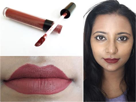 Lipstick Makeover Lust bh cosmetics matte liquid lipstick lust review swatches