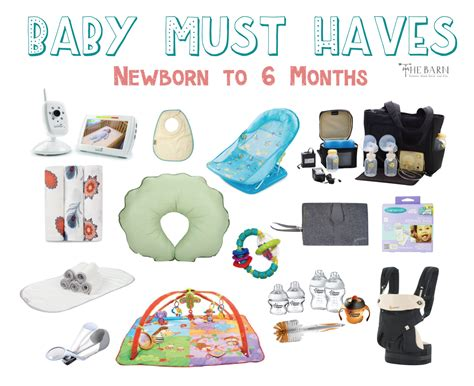 7 Must Haveb Aby Accessories by Most Used Baby Products Newborn To Six Months The Barn
