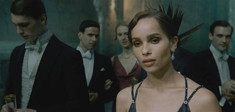 zoe kravitz on fantastic beasts zoe kravitz opens up about her fantastic beasts character
