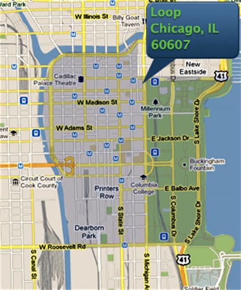 chicago loop map chicago loop real estate for sale