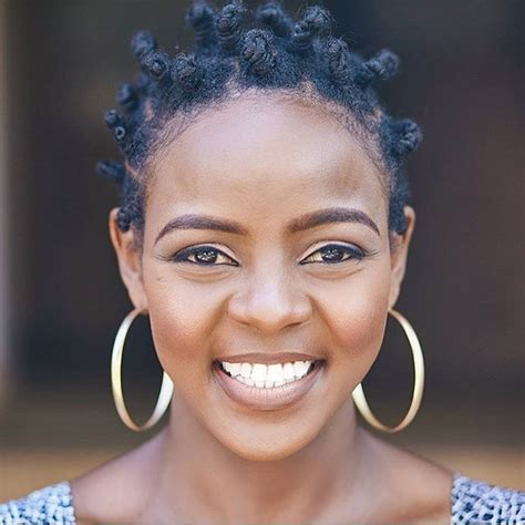 twisted knot hairstyles for african women 2017 bantu knots for long and short hair haircuts and