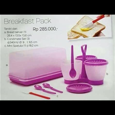 tupperware promo murah harga cantik dari breakfast