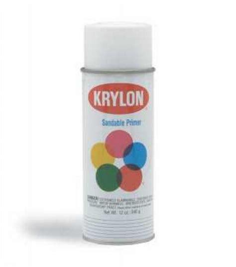spray paint joanns krylon spray sandable primer 12 oz white jo
