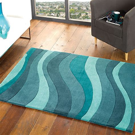 Kitchen Floor Covering Ideas Teal Rugs With Variations Make Your Place Cool