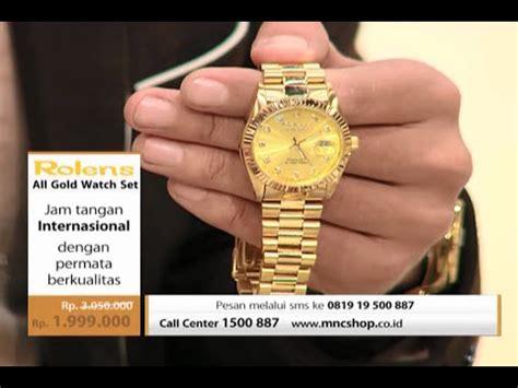 Jam Tangan Rolens mnc shop rolens all gold