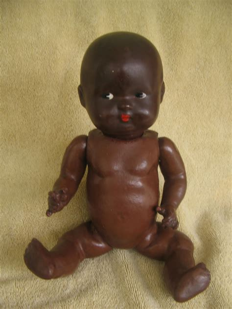 bisque black doll antique vintage dolls black bisque papier mache