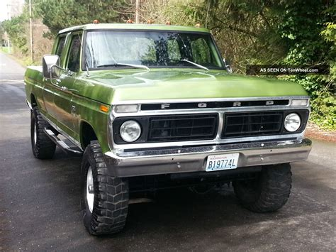 1974 ford crew cab for sale 1974 ford 250 highboy 4x4 crew cab for sale html autos