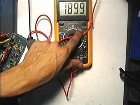 Volt Meter Voltmeter Cek Arus Aki Motor Mobil Tho Motor 48 penggunaan voltmeter eremeter doovi