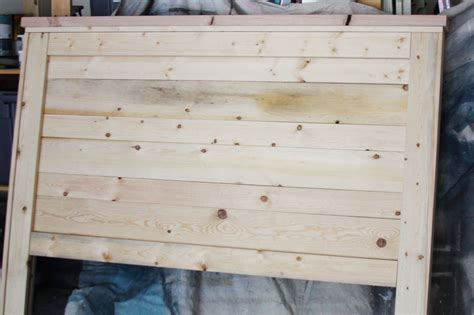 diy headboard wood diy wood headboard diy home pinterest