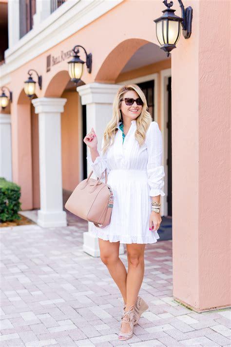 Jv Dress Wedges Sunglases seaglass necklace white dress shop dandy shop dandy just dandy by danielle