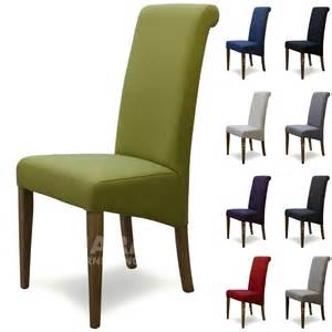 Fabric For Dining Room Chairs Fabric Dining Room Chairs Solid Oak High Quality Furniture Various Colours Ebay