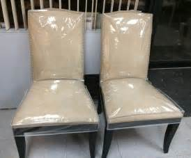plastic seat covers plastic and fabric slipcovers new way home decor