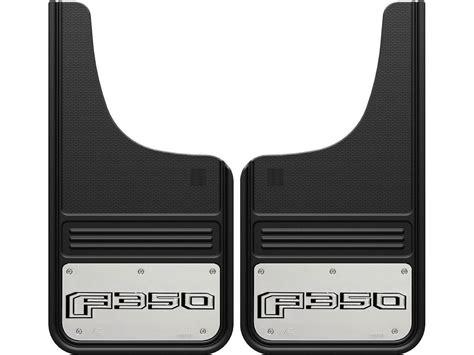 ford set 2017 2018 ford f350 gatorback mud flap set ga1223cutf350