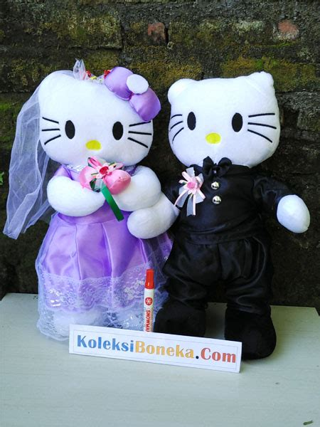 jual boneka pengantin hello tersedia juga karakter