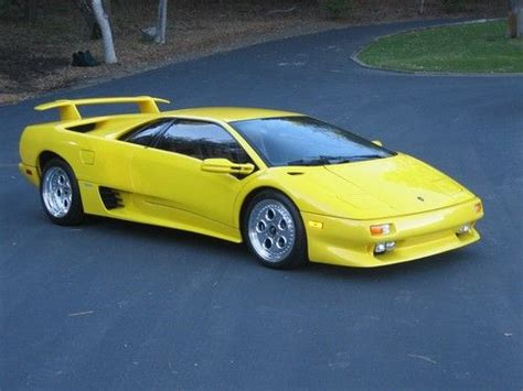car engine manuals 1996 lamborghini diablo interior lighting buy used 1996 yellow lamborghini diablo in great condition first owned by jerry rice in vienna