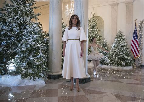 trump white house decorations white house christmas decorations 2017 photos of melania