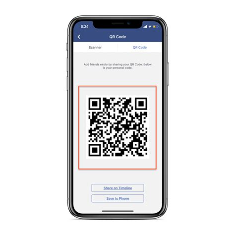 how to add friends on using qr code on iphone