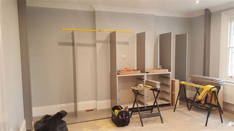 Building A Wardrobe - building a fitted wardrobe