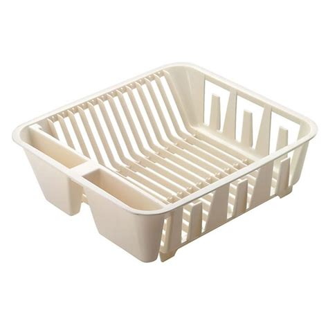 small sink dish rack rubbermaid small basic dish drainer in white fg6049arwht